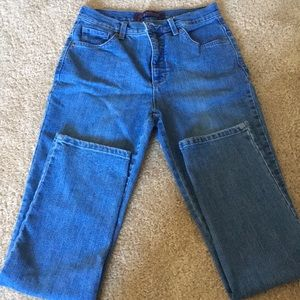 High waisted Gloria Vanderbilt jeans
